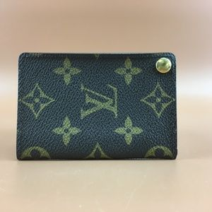 Preowned Louis Vuitton Monogram Bifold Card Holder